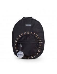 Plecak dziecięcy ABC Czarno-złoty, Childhome