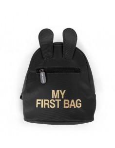 Plecak dziecięcy My First Bag Czarny, Childhome