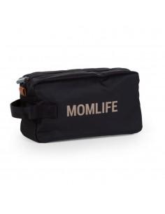 Kosmetyczka Momlife Czarno - Złota, Childhome