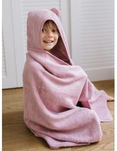 Ręcznik BAMBUSOWY dziecięcy vintage rose M, Qbana Mama