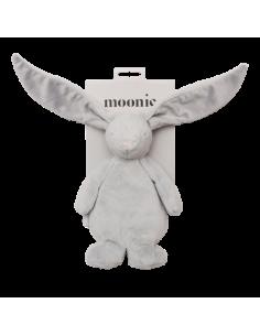 Przytulanka króliczek sensoryczny Silver, Moonie