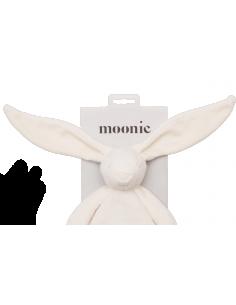 Przytulanka króliczek sensoryczny Cream, Moonie