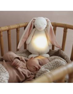 Szumiący króliś z lampką Powder, Moonie