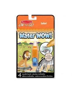 Kolorowanka wodna Water Wow! Safari +3 lata, Melissa and Doug