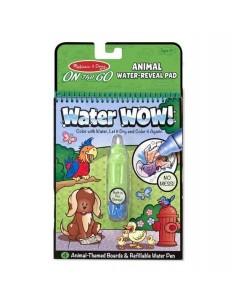 Kolorowanka wodna Water Wow! Zwierzęta +3 lata, Melissa and Doug