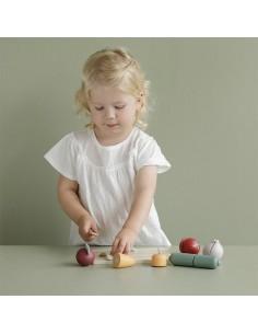 Deska do krojenia z warzywami +2 lata, Little Dutch