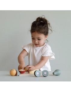 Deska do krojenia z owocami +2 lata, Little Dutch
