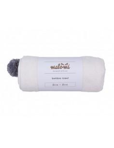 Ręcznik bambusowy S Ecru85x85 cm, Malomi