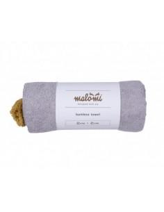 Ręcznik bambusowy S Grey 85x85 cm, Malomi