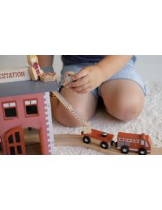 Drewniana remiza strażacka +3 lata, Little Dutch