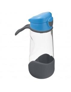 Sportowa butelka tritanowa z ustnikiem 450 ml Blue Slate, b.box