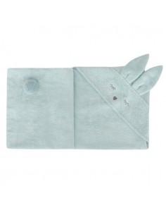 Ręcznik Bambusowy Króliczek Mięta 80x80cm, Samiboo