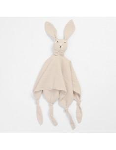 Przytulanka króliczek Huggy beżowy, Bim Bla