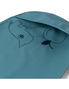 Śliniak z kieszonką 2 sztuki Blue, Dane by Deer
