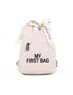 Plecak dziecięcy My First Bag Teddy Bear White (Limited Edition), Childhome