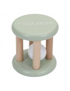 Grzechotka Mięta Little Goose +3 m-ce, Little Dutch