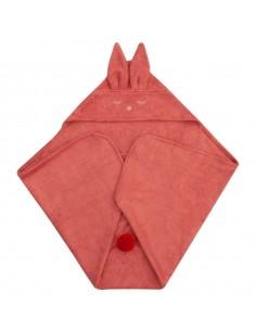 Ręcznik Bambusowy Króliczek Rudy 80x80cm, Samiboo