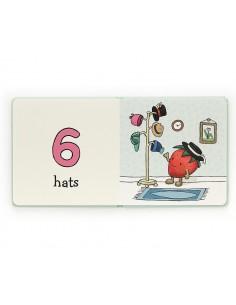 Książeczka z cyferkami Amuseable Numbers Book, Jellycat