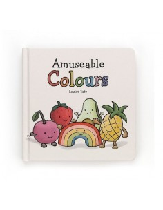 Książeczka z kolorami Amuseable Colours Book, Jellycat