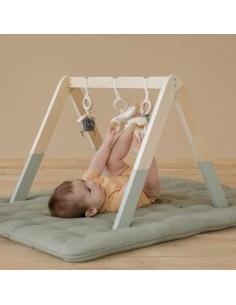 Pałąk interaktywny BabyGym Little Goose, Little Dutch