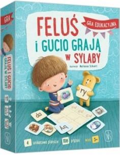 Feluś i Gucio grają w sylaby +6 lat