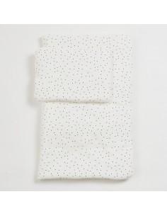 Komplet pościeli z wypełnieniem Dots 75x95 cm, Bim Bla