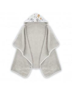 Ręcznik Bawełniany Przedszkolaka Woodland Beżowy, Colorstories