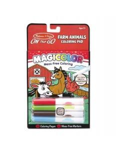Kolorowanka bez Brudzenia Magicolor Zwierzęta na Farmie 3-7 lat, Melissa and Doug