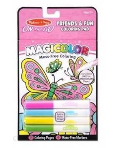 Kolorowanka bez Brudzenia Magicolor Przyjaciele 3-7 lat, Melissa and Doug