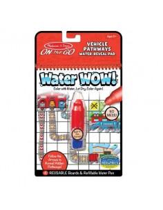 Kolorowanka wodna Water Wow! Pathways, Pojazdy +5 lat, Melissa and Doug