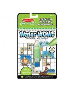 Kolorowanka wodna Water Wow! Pathways, Przygody +5 lat, Melissa and Doug