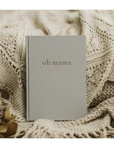 Pamiętnik przyszłej mamy Oh Mama Light Grey, Mommy Planner