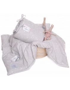 Ochraniacz NA CAŁE łóżeczko 70x140cm MilkyWay Grey