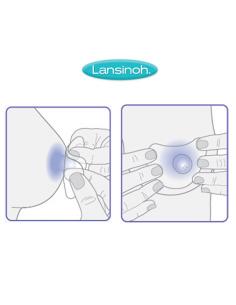 Osłonki laktacyjne 20 mm, Lansinoh