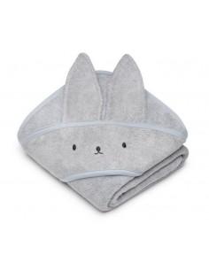 Bambusowy ręcznik light grey 85x85 cm, Memi