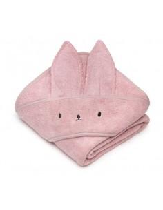 Bambusowy ręcznik powder pink 85x85 cm, Memi