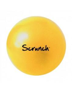 Piłka silikonowa Scrunch Pastel Żółty, Funkit World