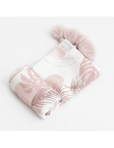 Otulacz bambusowy 110x130cm Pretty in Pink, Bolo