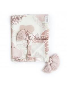 Otulacz bambusowy 80x100cm Pretty in Pink, Bolo