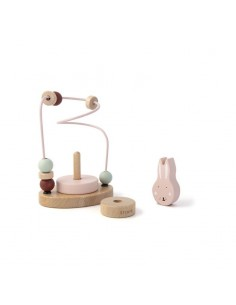 Labirynt z drewnianymi koralikami Mrs. Rabbit +12 m-cy, trixie