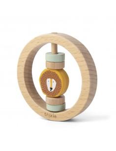 Drewniana okrągła grzechotka Mr. Lion +6 m-cy, trixie