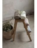Lekki kocyk bambusowy Wafer 90x90 light grey, My Memi