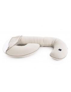 Poduszka ciążowa Organic LATTE, Poofi