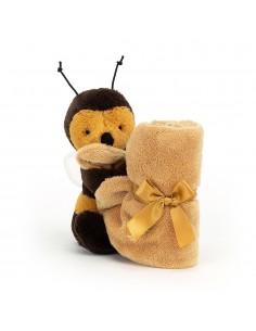 Kocyk przytulanka z pszczółką Bee, Jellycat