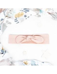 Opaska niemowlęca Soft and Natural pudrowy róż 68/ 80, Colorstories