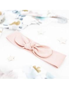Opaska niemowlęca Soft and Natural pudrowy róż 56/ 62, Colorstories