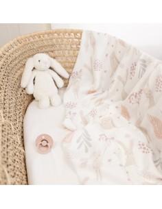 Otulacz bambusowy 100x120 cm Bunny New, Colorstories