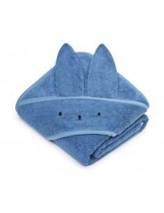 Bambusowy ręcznik navy blue 85x85 cm, My Memi