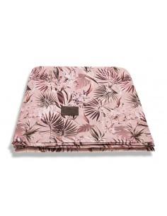 Otulacz/ chusta bambusowa Jungly Powder Pink 120x120 cm, Sleepee