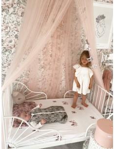 Prześcieradło do łóżeczka We care Jungly Bird 60x120, Sleepee